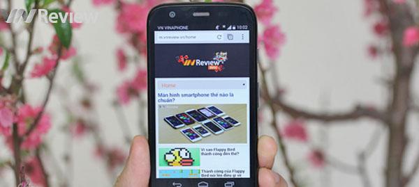 Công bố bạn đọc trúng thưởng Motorola Moto G