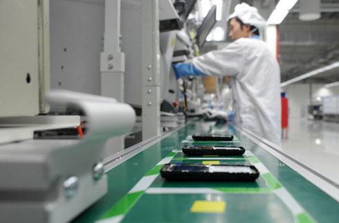 Xuất khẩu điện thoại và linh kiện tháng 1/2014 đạt gần 1,7 tỷ USD