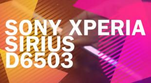 """Sony D6503 Sirius tiếp tục lộ video, màn hình """"ngon"""" hơn Z1"""