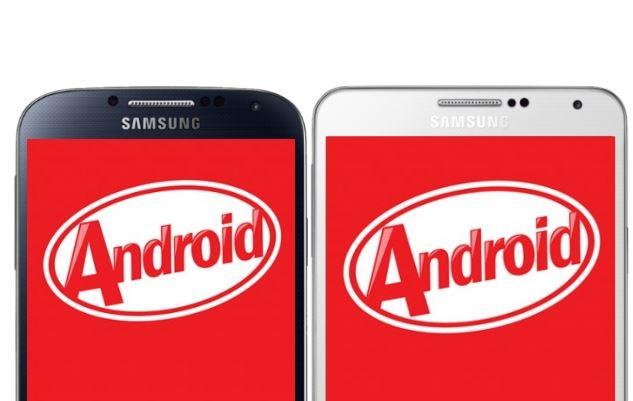 Samsung cập nhật Android 4.4.2 cho một loạt dòng Galaxy