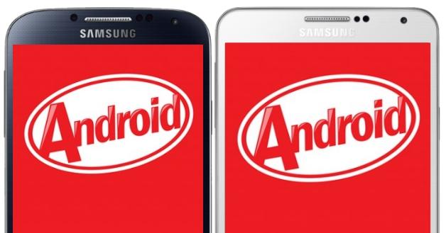 Samsung cập nhật Android 4.4.2 cho một số điện thoại galaxy