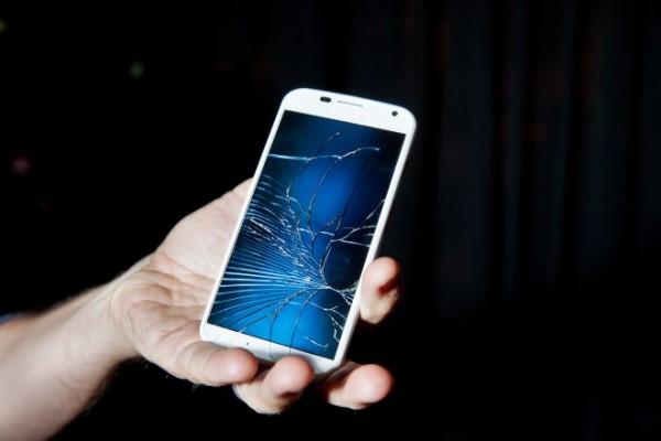 màn hình iphone 5 bị bể