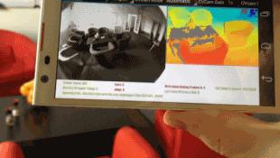 Điện thoại của Google có thể tạo ra bản đồ 3D