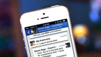 Giá trị Blackberry Messenger tăng mạnh nhờ WhatsApp