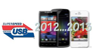 USB 3.0 sẽ xuất hiện trên smartphone cuối năm 2012