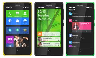 Cấu hình chi tiết bộ ba smartphone Nokia X, X+ và XL chạy Android