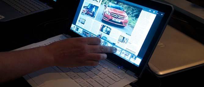 Intel công bố màn hình chạm cho Ultrabook