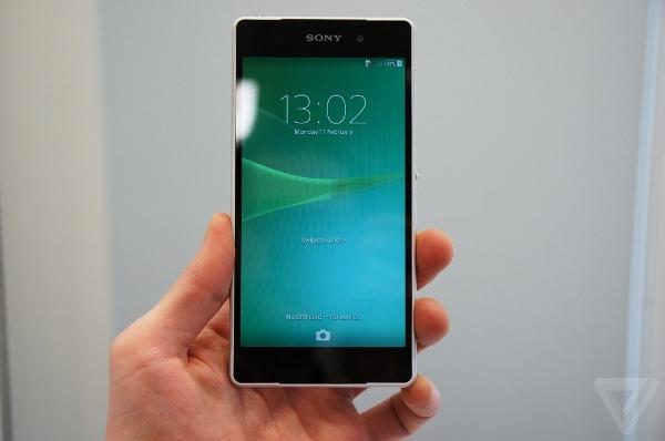 trên tay Sony Xperia Z2
