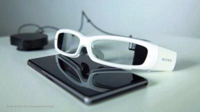 Sony trình diễn concept kính thông minh SmartEyeglass