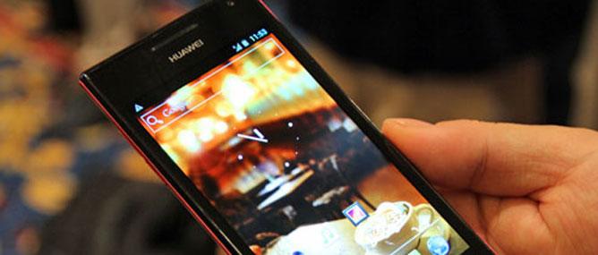 Trên tay smartphone mỏng nhất Ascend P1 S
