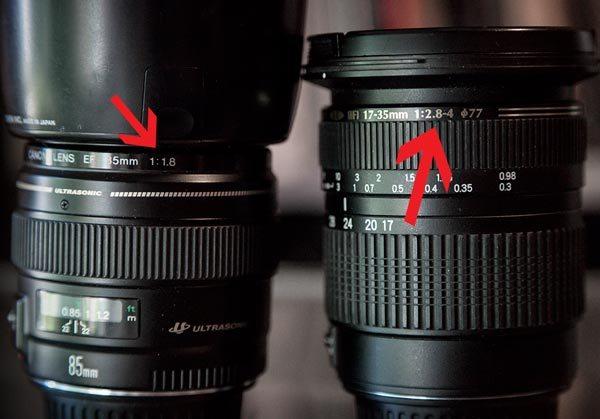 Các thông số trên ống kính được đọc sao cho đúng? 5