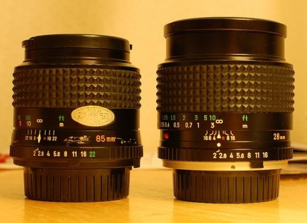 Ý nghĩa các thông số trên ống kính DSLR