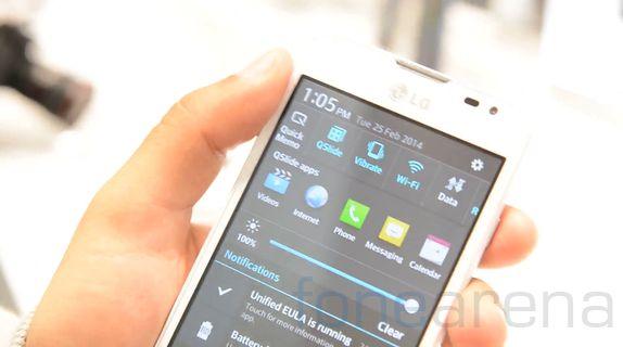 LG trình làng smartphone L65 chạy Android 4.4 KitKat