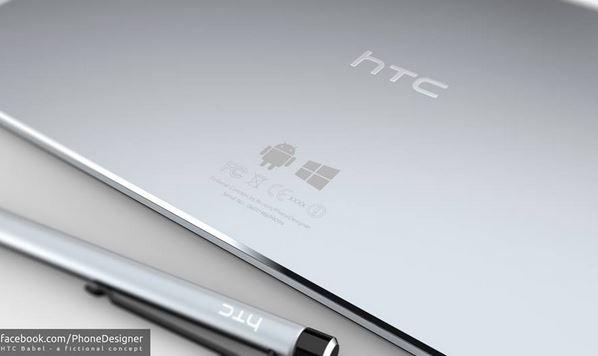 """Concept """"cực đỉnh"""" của tablet hệ điều hành kép HTC Babel"""