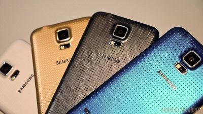 Cận cảnh 4 màu của Samsung Galaxy S5