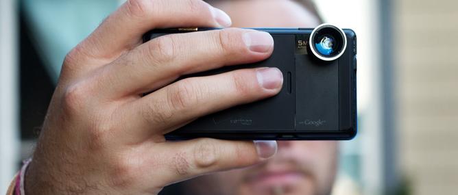 Máy ảnh smartphone tiến vào cuộc đua mới