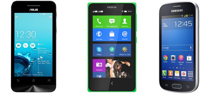 3 smartphone tầm giá 2 triệu đồng sẽ bán ở VN trong tháng Ba