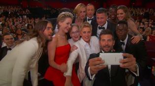 """Samsung nói gì về bức ảnh tự sướng """"gây bão"""" tại Oscar?"""