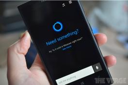 Lộ ảnh chụp màn hình và thông tin về trợ lý ảo Cortana