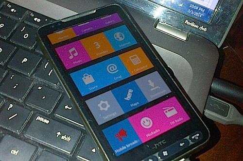 """""""Đồ cổ"""" HTC HD2 vẫn chạy được ROM của Nokia X"""