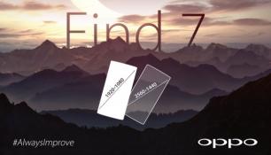 Oppo xác nhận Find 7 có hai phiên bản màn hình khác nhau