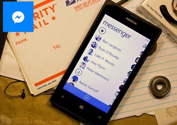 Facebook Messenger chính thức đổ bộ lên Windows Phone 8