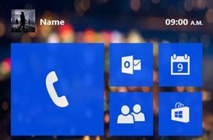 Concept Windows Phone 9: Giao diện đẹp, tối ưu mạng xã hội