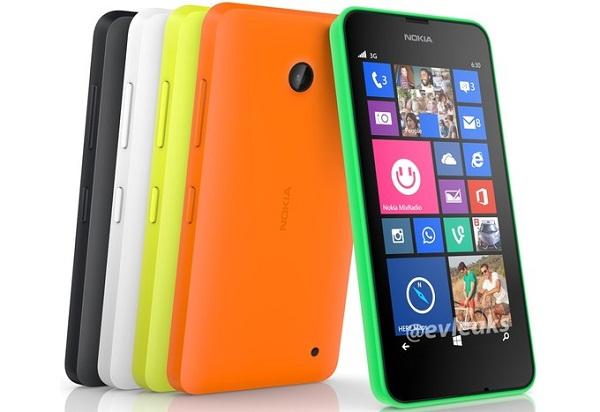 Lumia 630 lộ ảnh chính thức