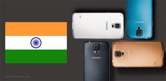 Galaxy S5 có giá khởi điểm 15,7 triệu đồng ở Ấn Độ, cao hơn Galaxy S4