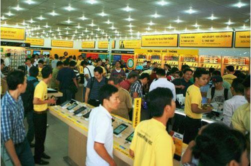 Thế giới Di động muốn tuyển sinh viên vào làm quản lý siêu thị