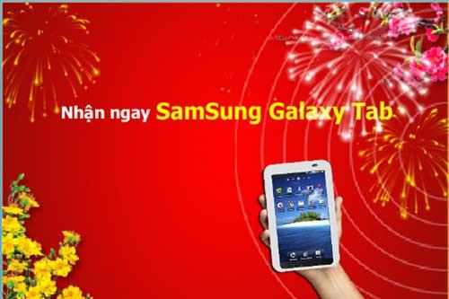 Nhận Galaxy Tab khi sử dụng dịch vụ máy chủ tại CMC Telecom