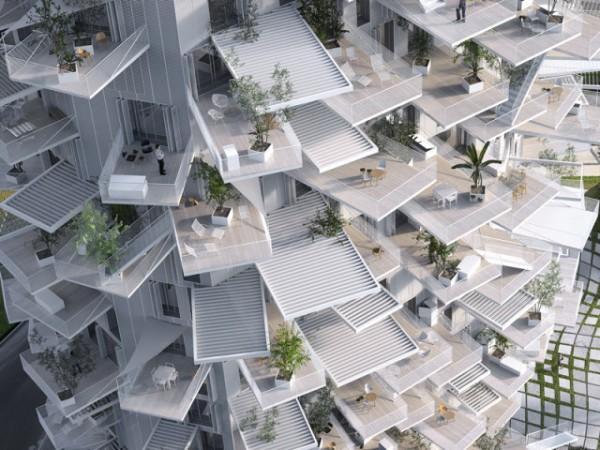 Ngắm thiết kế tòa nhà đa năng hình cái cây độc đáo