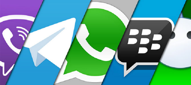 10 dịch vụ nhắn tin di động phổ biến nhất thế giới