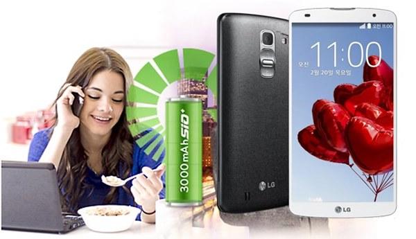 Đánh giá thời lượng pin của LG G Pro 2: Ngang ngửa Note 3