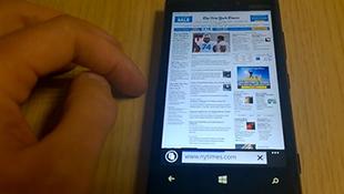 Những tính năng độc đáo của Internet Explorer 11 trên Windows Phone 8.1