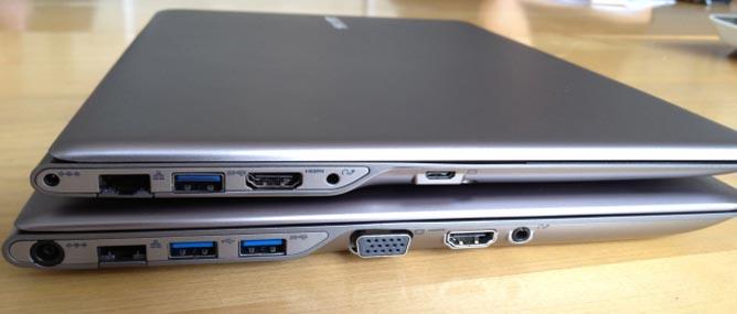 Cận cảnh ultrabook Samsung Series 5