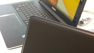 Ảnh/clip thực tế laptop bọc da ATIV Book 9 Style