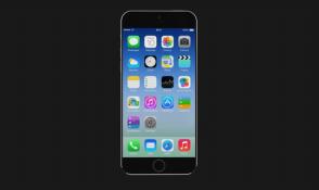 """Concept """"như thật"""" của iPhone 6/iPhone Air, iPhone 6C và iOS 8"""