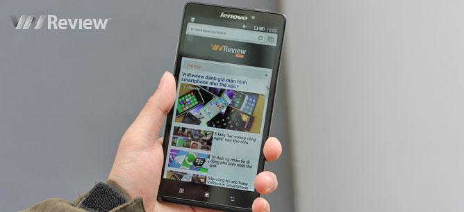 Trên tay Lenovo Vibe Z chính hãng
