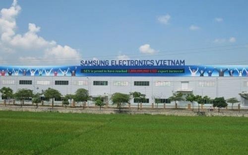 Nhà máy sản xuất điện thoại Samsung tại Thái Nguyên chính thức hoạt động