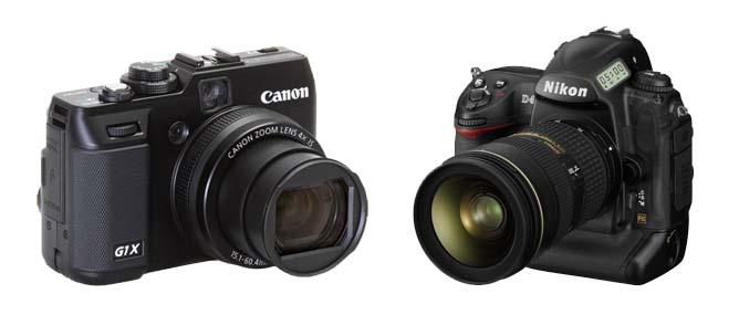 Trên tay cả Canon G1 X và Nikon D4 tại CES
