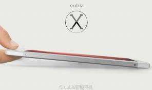 ZTE Nubia X6 dùng Snapdragon 801, màn Quad HD, camera OIS